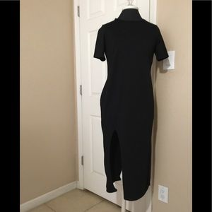 ASOS T-shirt maxi dress black sz.2 $38